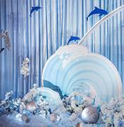 蒲城县婚礼策划方案:海浪