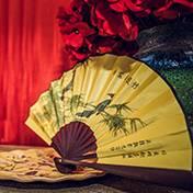济南婚礼策划方案:折扇