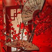 济南婚礼策划方案:红梅
