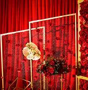 宁都县婚礼策划方案:几何图形