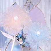 东安县婚礼策划方案:真丝花