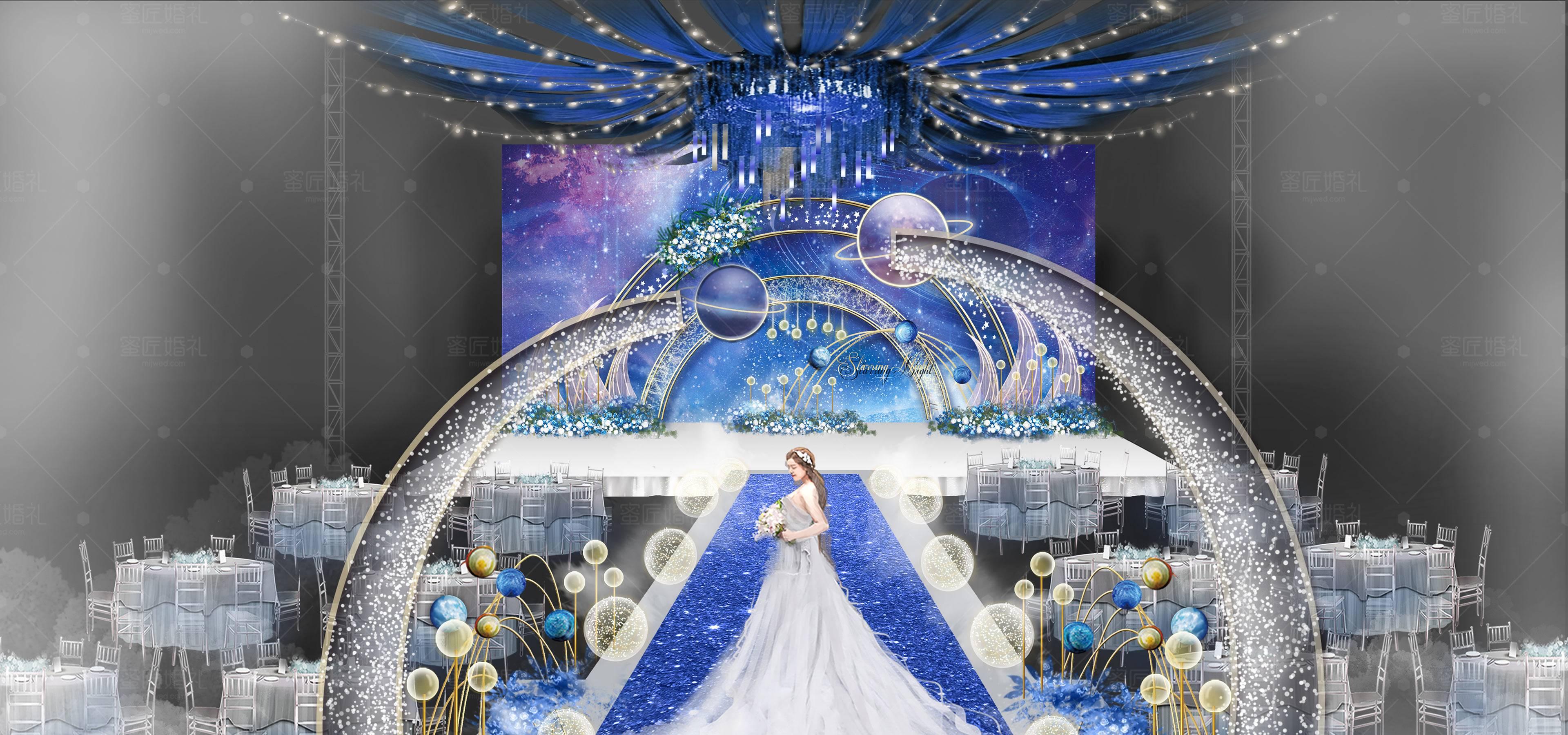 长沙婚礼策划方案:星空1