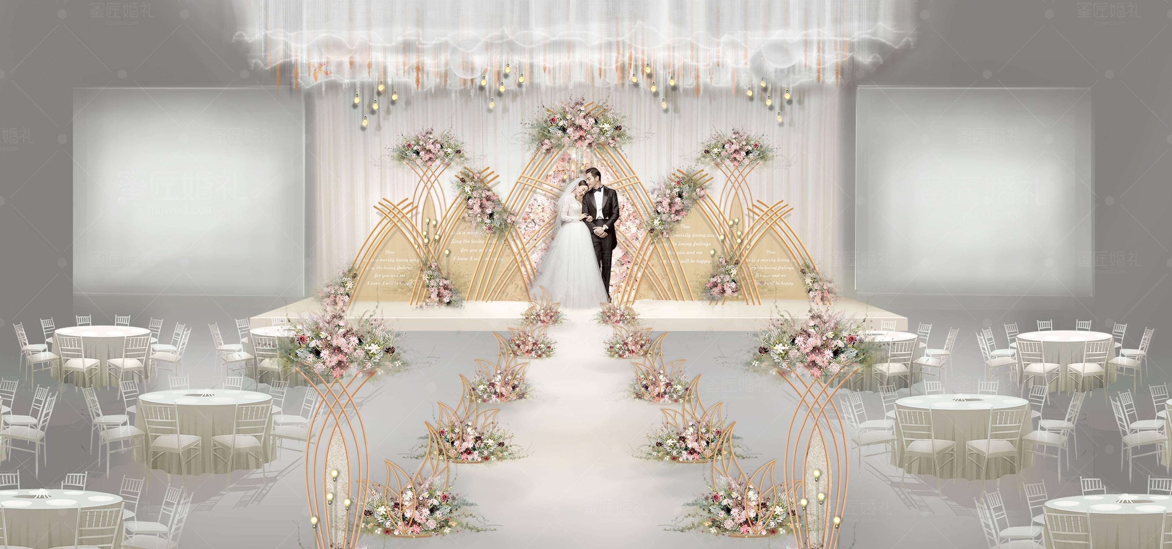 长沙婚礼策划方案:小情歌1