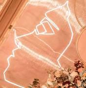 乐安县婚礼策划方案:情侣发光装置