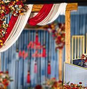 长沙婚礼策划方案:木质元素