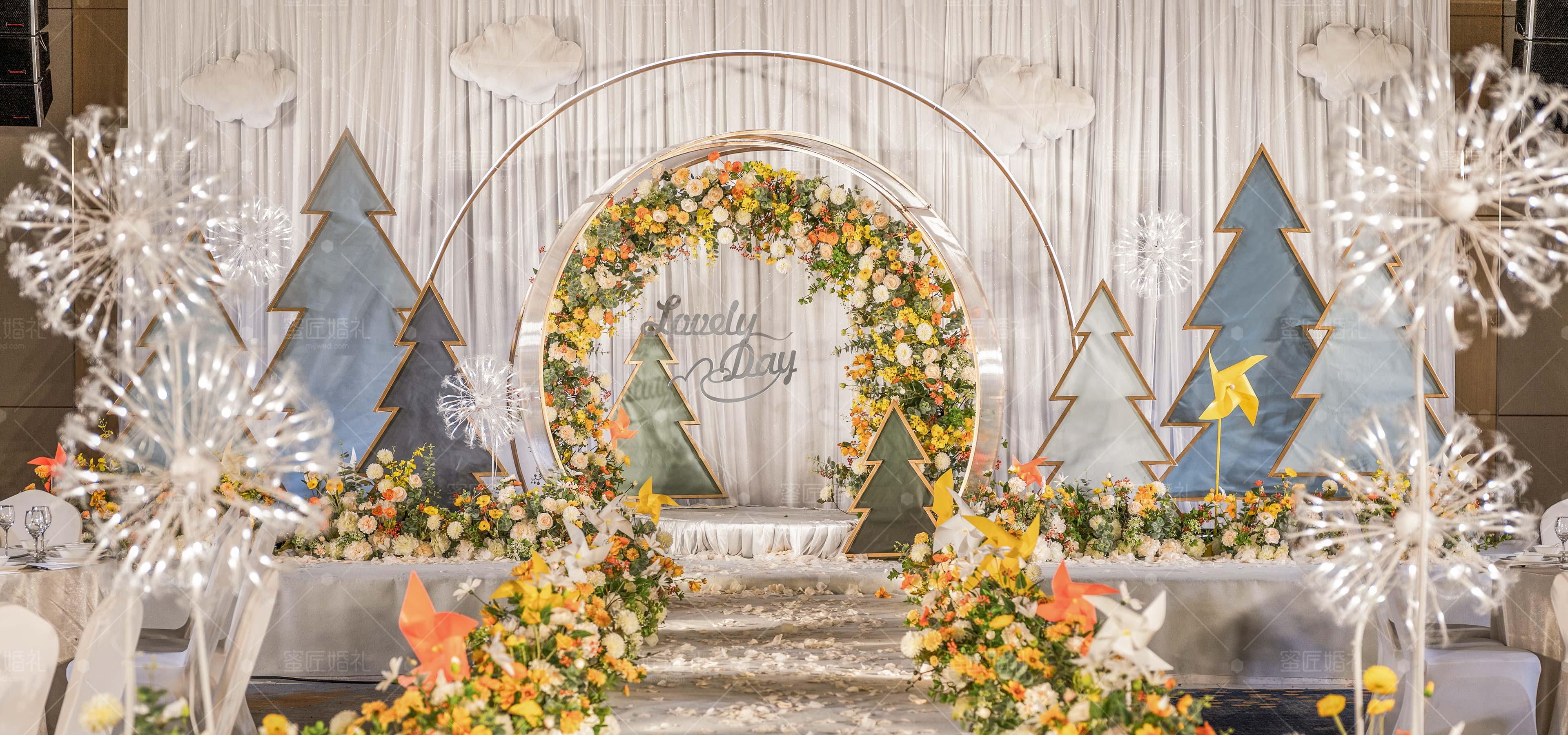 常山县婚礼策划方案:如风1