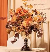 哈密地区婚礼策划方案:秋色花艺