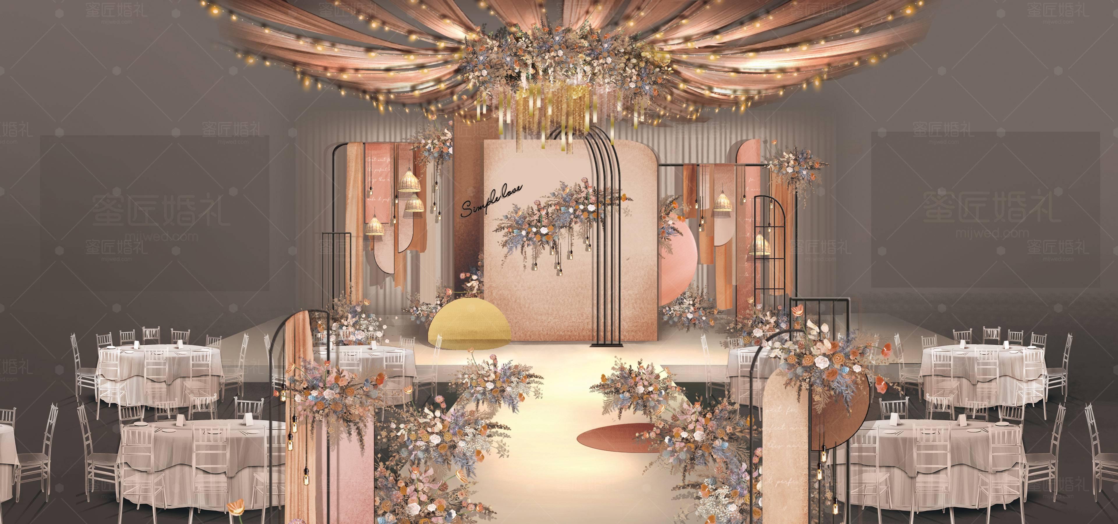 重庆市婚礼策划方案:简单爱1