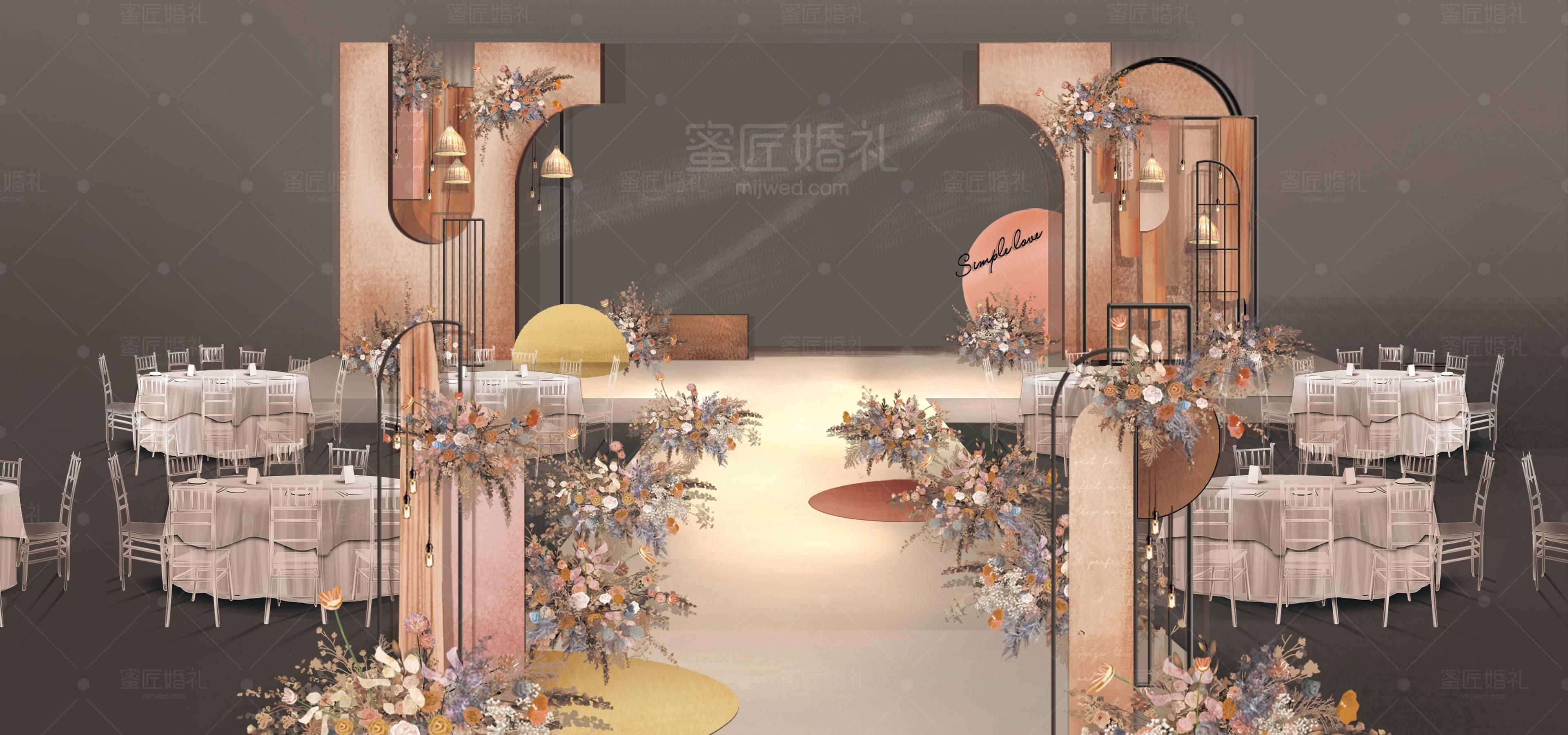 东阳市婚礼策划方案:简单爱1