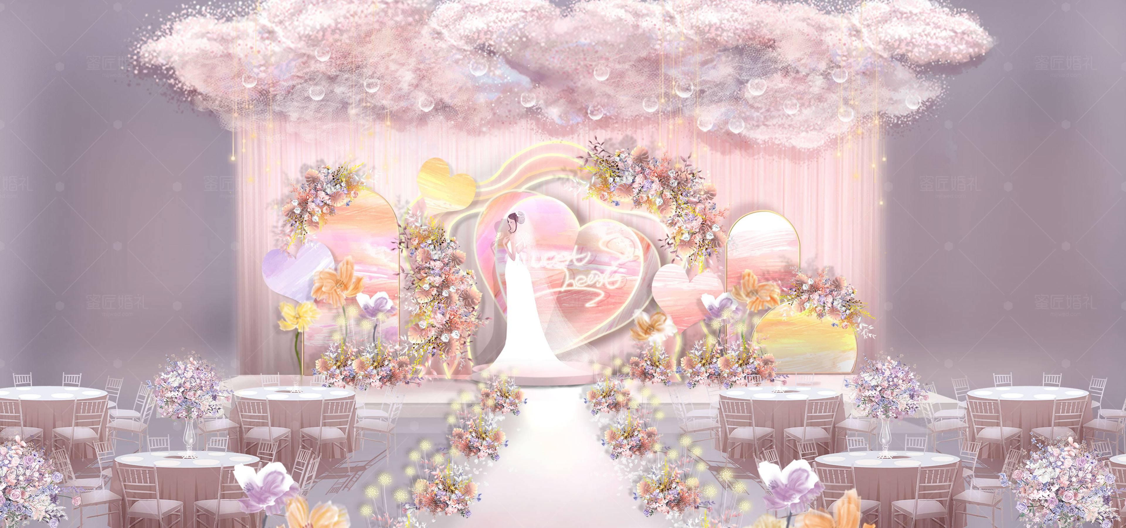 娄底市婚礼策划方案:甜心1