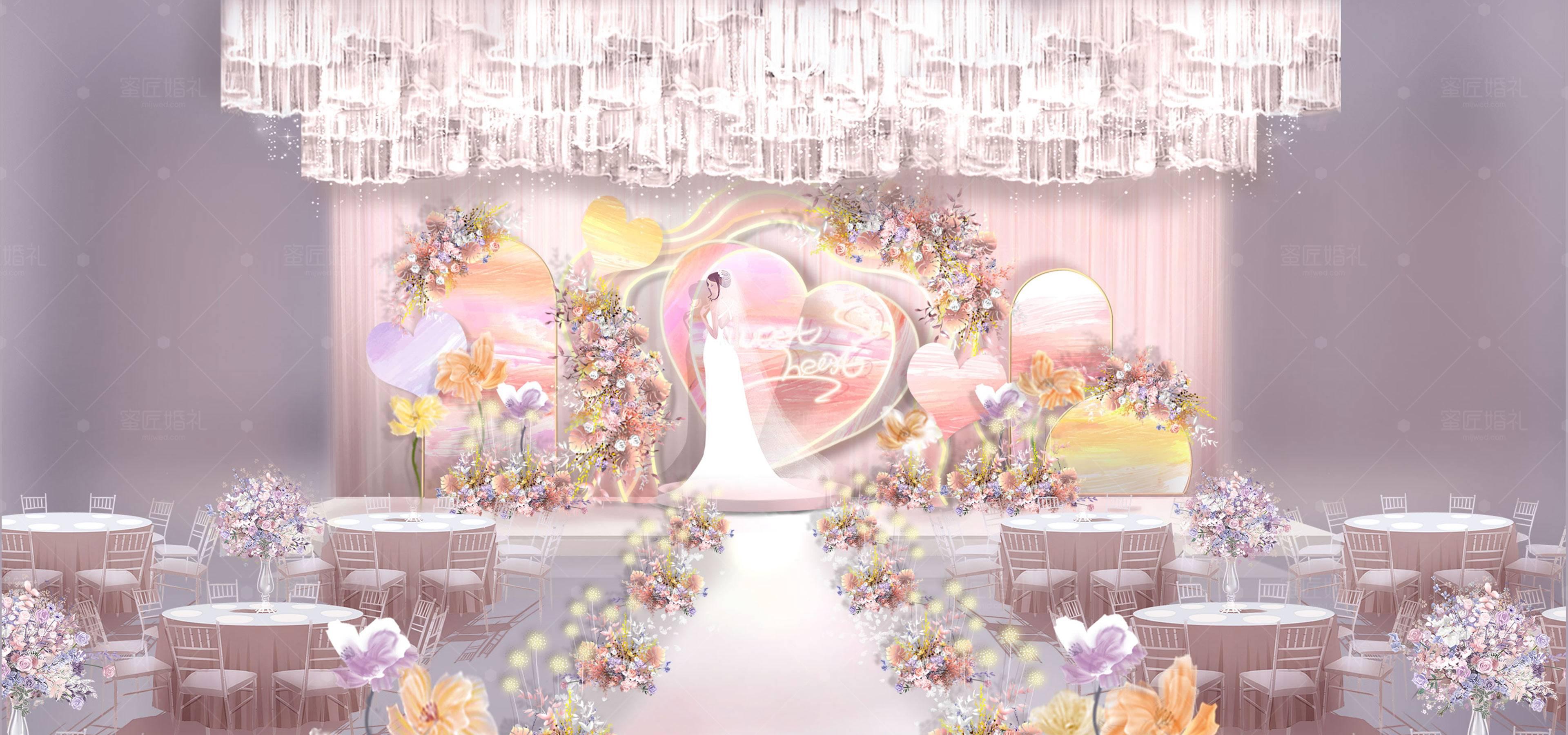 桂阳县婚礼策划方案:甜心1