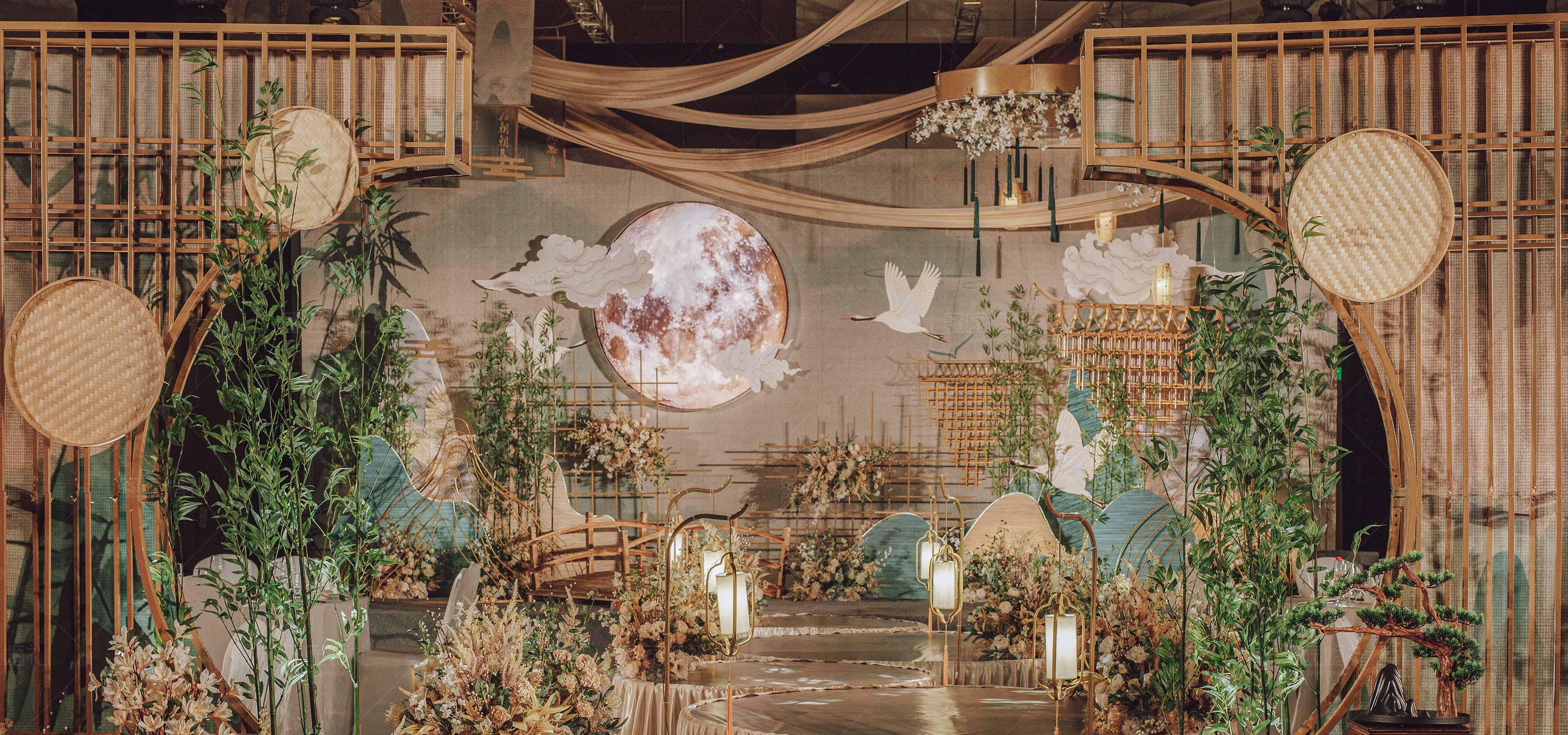 长沙婚礼策划方案:明月清风1